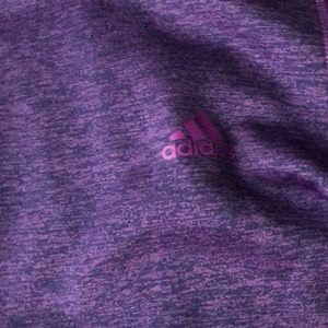 Purple climawarm adidas sweatshirt